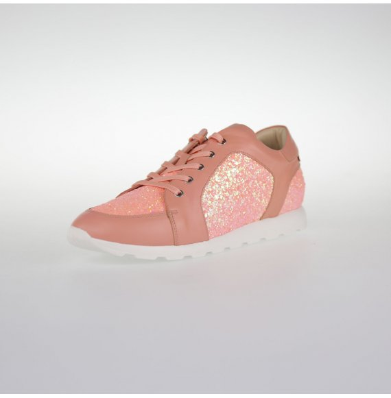 Glitzer Sneaker Kailua Aprikot Bubblegum