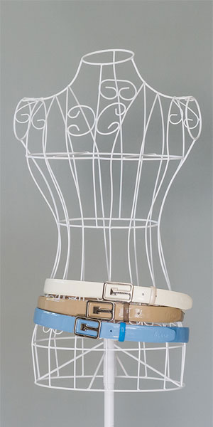 Damenguertel aus Leder - Leiano